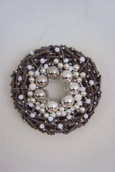 nekem nagyon bejön ez a színvilág! Christmas Mood, Christmas Makes, Noel Christmas, All Things Christmas, Christmas Crafts, Christmas Ornaments, Advent Wreath, Holiday Wreaths, Xmas Decorations