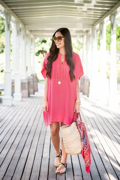 Coral Kaftan - With Love From Kat