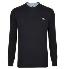 Knitted Crew Neck Jumper Description: Update your casual wardrobe with this Lacoste jumper. This crew neck style is crafted from cotton and features ribbed hems and logo detailing.Size selection: Brands own sizingFits true to size, take your normal sizeCut with a regular fit100% cottonMachine washable Black 7 Price:... http://qualityclothing.me.uk/knitted-crew-neck-jumper-7/