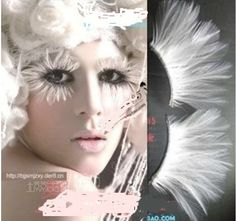 lot 10pairs white Long ball party  halloween Soft Handmade Fake False Eye Lash eyelash Makeup cosmetic Extensions-in False Eyelashes from Health & Beauty on Aliexpress.com | Alibaba Group