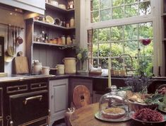 cuisine-en-bois-massif-design-cuisine-moderne-ikea-meubles-de-cuisine-modernes