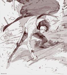 Kashuu Kiyomitsu - Touken Ranbu Drawing Reference Poses, Drawing Poses, Manga Drawing, Figure Drawing, Manga Art, Anime Art, Manga Poses, Anime Poses, Character Inspiration