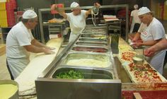The art of Pizza making