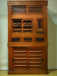 Mizuya Tansu (kitchen cupboard) Kofukuan antique store, Machida