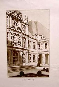 Gravure JD, Carnavalet museum