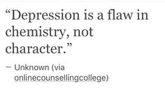 if u r suffering from depression or whatever u r going through with depression remeber this please