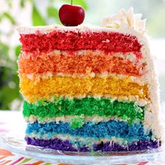 ... buono,rainbow on Pinterest | Rainbow Cakes, Rainbows and Rainbow Bread