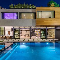 "Property Digest on Instagram: ""Presenting 1172 N Doheny Dr, a Custom modern smart home set behind gates and conveniently located North of Sunset. This home has been…"""
