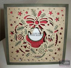 Crafters Companion Create a Card Christmas Die - Christmas Wreath