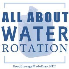 Do you have a hard time sifting through all of the advice on water rotation?  We try to simplify it for you and give some tips to make rotation easier!
