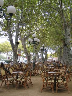 Cafe des Platanes - L`Ile Rousse, Corsica - #SomeroContest2015 by @RevezNexus