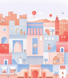 "Check out this @Behance project: ""Postcard from Morocco"" https://www.behance.net/gallery/43739543/Postcard-from-Morocco"
