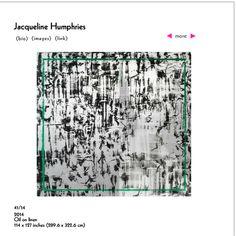 Greene Naftali Gallery / Jacqueline Humphries