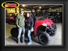 Thanks to Slade Smith and Whitney Denmark from Neely MS for getting a 2017 Polaris Ranger XP 900. @HattiesburgCycles