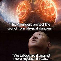 Basis for Doctor Strange intro to MCU