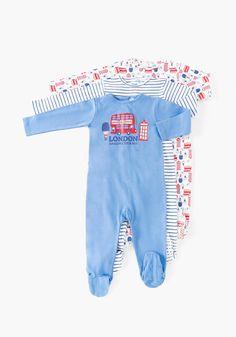 Comprar Pack de tres pijamas de una pieza TEX. ¡Aprovéchate de nuestros  precios y encuentra las mejores OFERTAS en tu tienda online de Moda! e05b7115208c