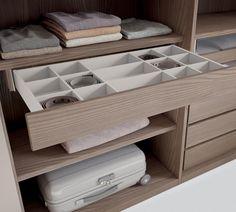 Corner cabinet, bridge wardrobe, wardrobe for attic, Lineare wardrobe | Caccaro