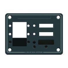 Blue Sea 8088 3 Position DC C-Series Panel - Blank - https://www.boatpartsforless.com/shop/blue-sea-8088-3-position-dc-c-series-panel-blank/