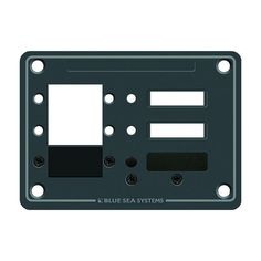 Blue Sea 8088 3 Position DC C-Series Panel - Blank - https://www.boatpartsforless.com/shop/blue-sea-8088-3-position-dc-c-series-panel-blank/