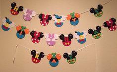 Banner de Casa Club de Mickey Mouse por MommysCustomCreation