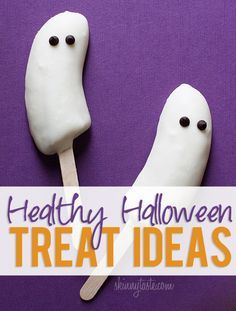 Healthy Halloween Treat Ideas for the Home, Classroom, Parties and more!