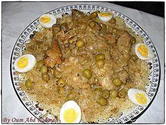 Vermicelles au poulet (recette sénégalaise)