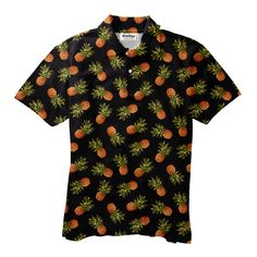 Lest you ignore.... DARK PINEAPPLE! He's just what your summer wardrobe needs. Cute Designs, Summer Wardrobe, Make You Smile, Men's Polo, Pineapple, Onesies, Polo Shirts, Men Casual, Hoodies