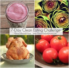 7-Day Clean Eating Challenge - Starts in JUNE #BeachReadyNow