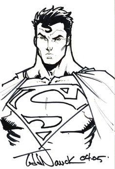 Todd Nauck Superman Comic Art
