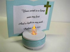 Another great idea to make and give out at the nursing home. A Light for my Path by GardenDiva - Cards and Paper Crafts at Splitcoaststampers Bible School Crafts, Sunday School Crafts, Bible Crafts, Vbs Crafts, Church Crafts, Paper Crafts, Crafts For Seniors, Crafts For Kids, Retreat Gifts