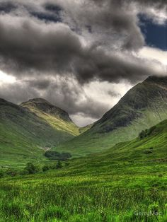 Glencoe in the Scottish Highlands - I sometimes think part of my heart is in the Highlands and the Hebrides.