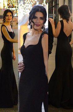 Elegant Sweetheart Open Back Black Custom Made Prom Dresses, Floor-Length Evening Dress,Prom Dresses