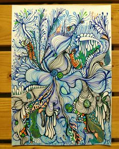 Best 9 I'm gonna try this – SkillOfKing. Pintura Graffiti, Zentangle Patterns, Zentangles, Tangle Art, Sharpie Art, Zen Art, Art Plastique, Pattern Art, Doodle Art