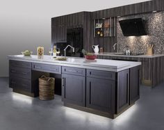 #Kitchen #KitchenIsland #LEDLighting