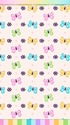 #spring #butterfly #wallpaper #iphone #android #cute