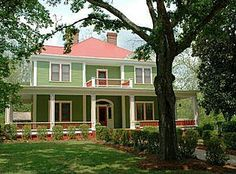 This beautiful home is located in Rutledge, GA. 20 minutes from the Brady Inn. www.bradyinn.com