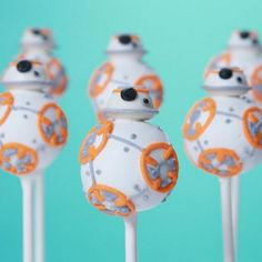 How to make BB-8 cake pops the ideal New Years' Eve food for Star Wars 7 fans   Metro News