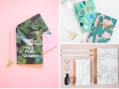 Must-see DIY notebook ideas great for gifts or back to school supplies. Skip the expensive store-bought notebooks and make your own - they are cheap & easy!