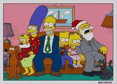 Fotos de Natal da família Simpson mostram o futuro dos personagens - Assuntos Criativos