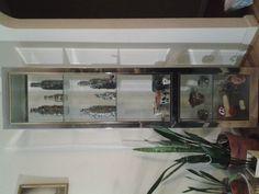 Glass display case