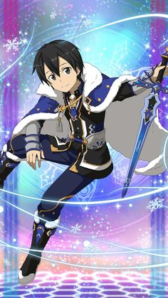 Check out our new Sword Art Online products here at Rykamall now~! Kirito Sword, Kirito Asuna, Sword Art Online Kirito, Kirito Kirigaya, Sao Ggo, Arte Online, Online Art, Chica Anime Manga, Anime Guys