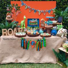"""Good Dinosaur"" Birthday Party Ideas 