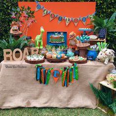 """Good Dinosaur"" Birthday Party Ideas   Photo 3 of 8"