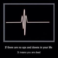 Thankful for the ups and downs.