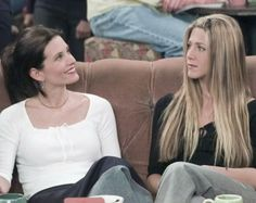 rachel and monica. courtney and jennifer. bffs. <3 lovelovelove