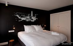 Mary K Hotel is a boutique hotel in the city center of Utrecht, the Netherlands. Together with owner Mary K and Remake architecture Bureau De Bank created an Mary K, Home Comforts, Utrecht, Cool Rooms, Best Hotels, A Boutique, Walls, Touch, Wall Art