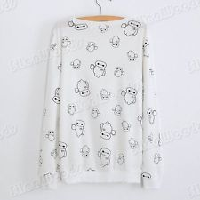 New Women Blouse Sweater Lady Casual Long Sleeves Fashion  Cotton Korean T-Shirt