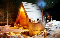 Camping Bled - hut with hot tub
