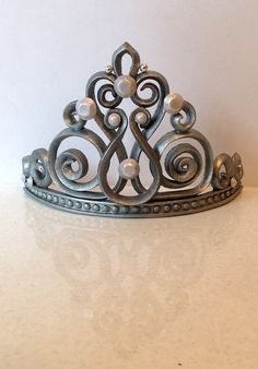 Princess crown tiara cake topper by LuluCupcakecom on Etsy, $39.95