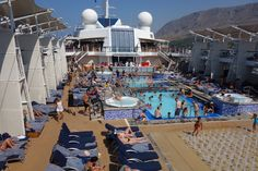 Main pool area...with a view!